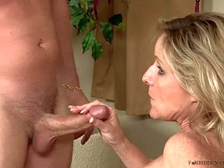 blonde high heels upornia mature