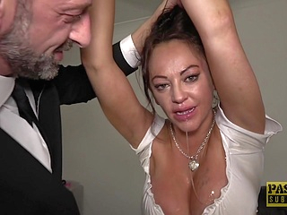 bdsm big tits upornia brunette