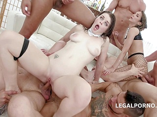 anal brunette upornia double penetration