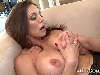 big tits brunette upornia facial