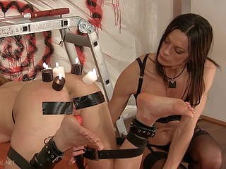 bdsm blonde upornia brunette